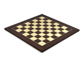 "Executive Range Chess Board ""Macassar & Maple"" – 20″"
