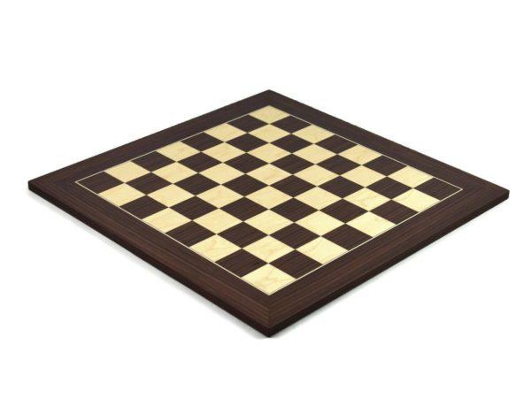 wooden chess board macassar
