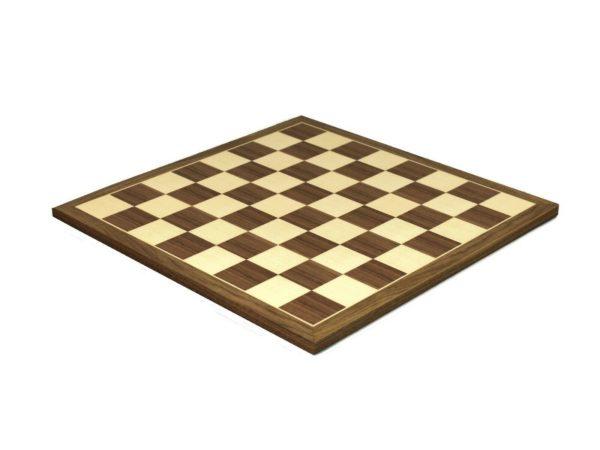 wooden chess board walnut
