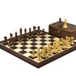 Master Range Wooden Chess Set Wenge Board 21″ Weighted Sheesham Professional Staunton Pieces 3.75″