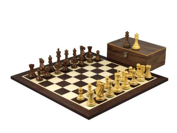 wenge chess set professional staunton sheesham chess pieces