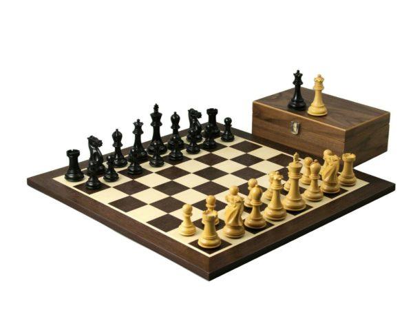 wenge chess set professiona staunton ebonised chess pieces