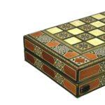 "Luxury Range Helena Backgammon Set ""Vertigo"" – 20″ – A1"