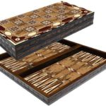 "Classic Range Backgammon Set ""Motif""- 20″"