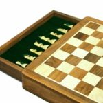 "Original Range Chess Set ""Sheesham Square"" – 12″"