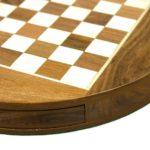 """Original Range Chess Set """"Sheesham Round"""" – 14″"""