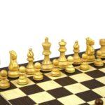 Atlantic Classic Chess Pieces Staunton Sheesham Boxwood 3.75″