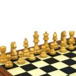 Downhead German Staunton Chess Pieces Sheesham Boxwood 3″