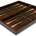 "Classic Range Backgammon Set ""Walnut""- 20″"