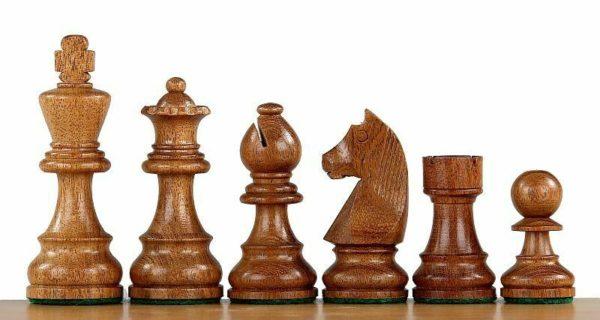 sheesham german staunton chess pieces