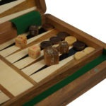 "Original Range Backgammon Set ""Sheesham"" – 10″"