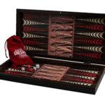 "Classic Range Backgammon Set ""Ancient III""- 20″"