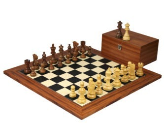 Executive Range Wooden Chess Set Palisander Board 20″ Weighted Sheesham Classic Staunton Pieces 3.75″