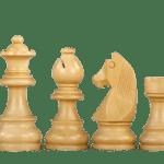 Downhead German Staunton Chess Pieces Sheesham Boxwood 3.75″