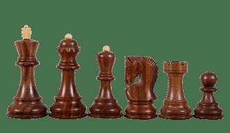 Zagreb Chess Pieces 1959 Series Staunton Sheesham Boxwood 3.75″