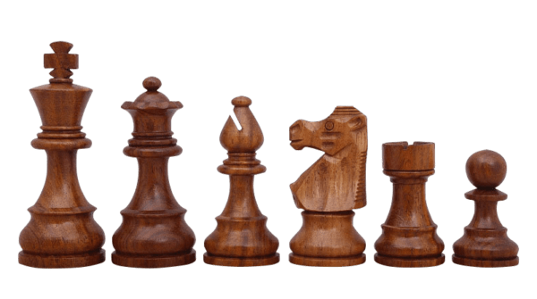 sheesham french lardy staunton chess pieces
