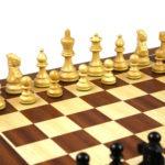 Atlantic Classic Chess Pieces Staunton Ebonised Boxwood 3″