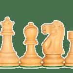 1972 Reykjavik Chess Pieces Broadbase Series Staunton Sheesham Boxwood 3.75″