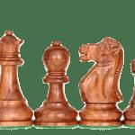 Master Range Wooden Chess Set Wenge Board 21″ Weighted Sheesham Reykjavik Staunton Pieces 3.75″