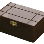 Chess Box Solid Sheesham Wood With Metal Clasp 3.50″