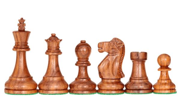 sheesham reykjavik staunton chess pieces
