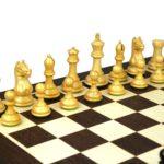 Master Range Wooden Chess Set Wenge Board 21″ Weighted Ebonised Staunton Fierce Knight Pieces 3.75″