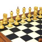 Executive Range Wooden Chess Set Palisander Board 20″ Weighted Sheesham Zagreb Staunton Pieces 3.75″