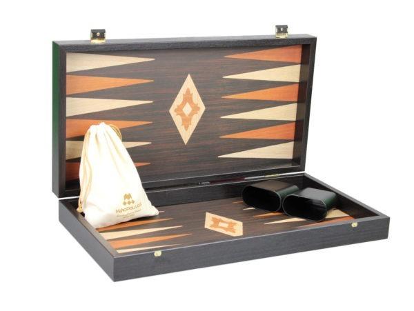 wenge manopoulos backgammon set