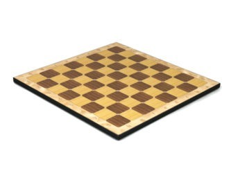 """Classic Range Wooden Flat Chess Board """"Oak""""- 14″"""