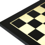"Executive Range Chess Board ""Black & Maple"" – 20″"