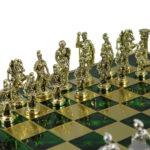 Metal Range Chess Set Emerald Green 18″ – 500G