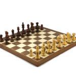 Master Range Wooden Chess Set Walnut Board 21″ Weighted Sheesham Reykjavik Staunton Pieces 3.75″