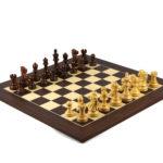 Executive Range Wooden Chess Set Macassar Board 20″ Weighted Sheesham Reykjavik Staunton Pieces 3.75″