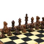 Executive Range Wooden Chess Set Palisander Board 20″ Weighted Sheesham Reykjavik Staunton Pieces 3.75″