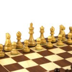 Executive Range Wooden Chess Set Mahogany Board 20″ Weighted Sheesham Reykjavik Staunton Pieces 3.75″