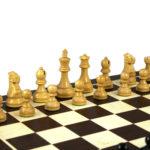 1972 Reykjavik Chess Pieces Broadbase Series Staunton Ebonised Boxwood – 3.75″