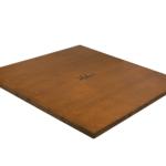 "Premium Range Helena Flat Chess Board ""Walnut Wood""- 20″"