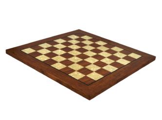 "Premium Range Helena Flat Mother of Pearl Chess Board ""Rosewood"" – 20″"